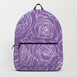 Amethyst Roses Backpack