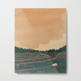 Farmers Metal Print