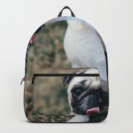 Dog by Guillaume LORAIN Backpack
