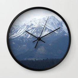 High Tatras mountains Wall Clock