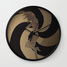 Falling Away Wall Clock