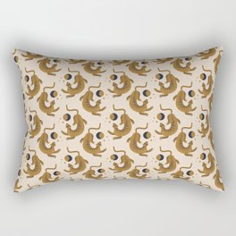 Moon Tigers Pattern Rectangular Pillow