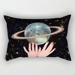 Saturn Disco Rectangular Pillow