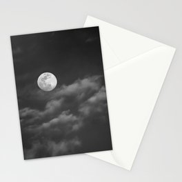Grey Moon Stationery Cards