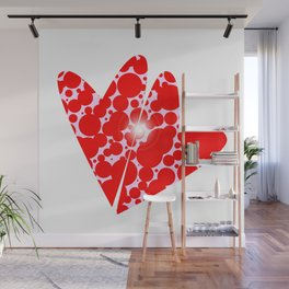 Two Hearts Wall Mural