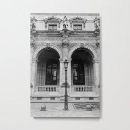 Louvre IV Metal Print