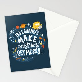 Magic Schoolbus Educational Quote Stationery Cards