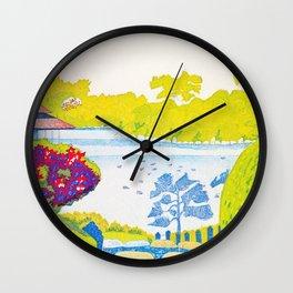 Koizumi Kishio - Fukagawa, Kiyosumi Garden - Digital Remastered Edition Wall Clock