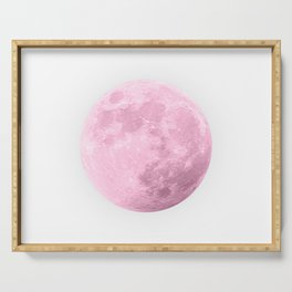 COTTON CANDY PINK MOON Serving Tray