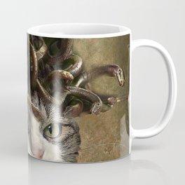 Evil Catdusa Medusa Cat Coffee Mug