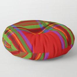 Holiday Tartan - DOUBLE Floor Pillow