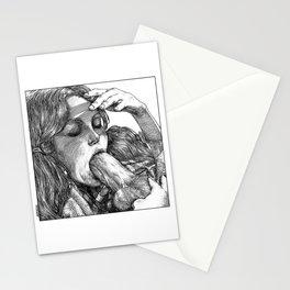 asc 744 - L'étouffoir (The muffler) Stationery Cards
