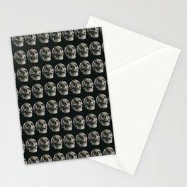 Skull pattern, gothic Stationery Cards
