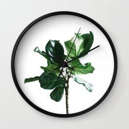 Palm Print Wall Clock