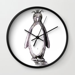Bad Day Penguin Wall Clock