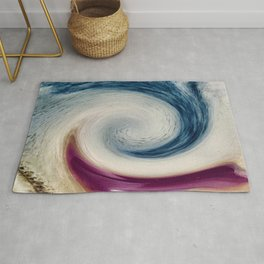 Kicking The Wave Rug