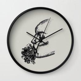 Remorse Wall Clock