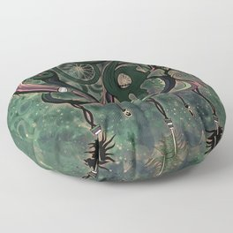 The Dream Catcher: Old Hag's Bane Floor Pillow
