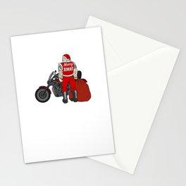 Merry Christmas Santa Claus Anti-Nicholas Muscle Santa Design Stationery Cards