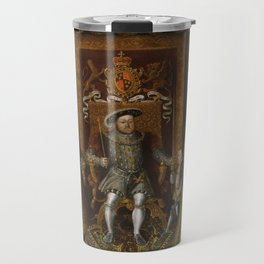 The family of Henry VIII Travel Mug