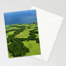Typical Azores landscape Stationery Cards