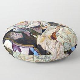 Joan Miro Spanish Playing Cards Floor Pillow