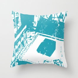 roof and the sun Throw Pillow