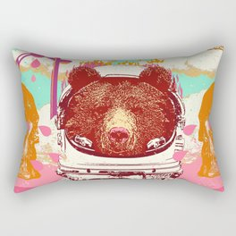 ASTRO BEAR Rectangular Pillow