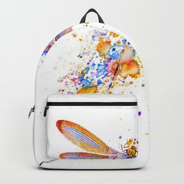 Dragonfly splatter Backpack