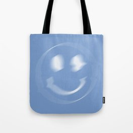Glitch - Blue Tote Bag