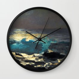 Winslow Homer1 - Sunlight On The Coast - Digital Remastered Edition Wall Clock