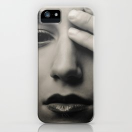 Shy One iPhone Case