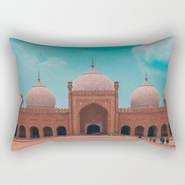 The Badshahi Mosque, Lahore, Pakistan Rectangular Pillow