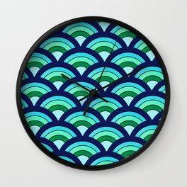 Rainbow connection - oceanic Wall Clock