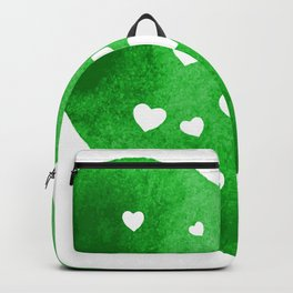 Green Hearts Backpack