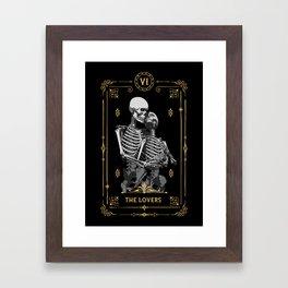 The Lovers VI Tarot Card Framed Art Print