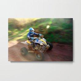 ATV offroad racing Metal Print