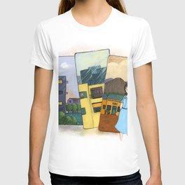 My homes illustration T-shirt