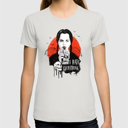 Wednesday The Addams family art T-shirt