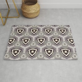 African Zebra Pattern Rug