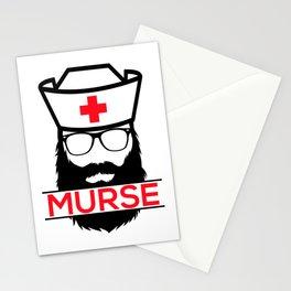 Murse Male Nurse Hospital Health Care Stationery Cards