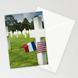 Omaha Beach Stationery Cards