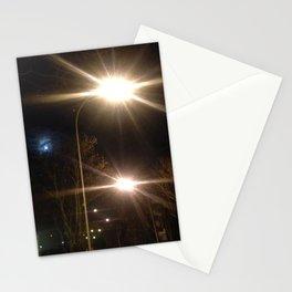 Urban night Paris Stationery Cards