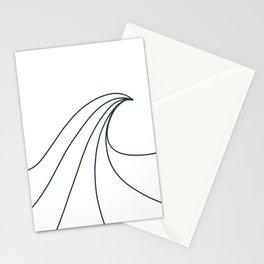 Wave pattern Nazare Stationery Cards