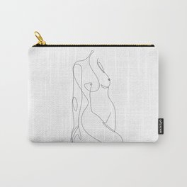 Single Nude Carry-All Pouch
