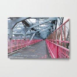 Across the Williamsburg Bridge Metal Print