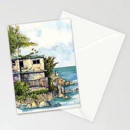 Hemingway's Cuba:  View from La Terraza Stationery Cards