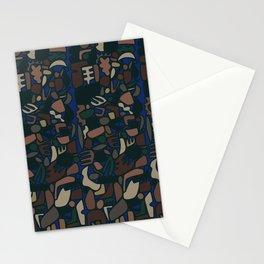 camo shapes Stationery Cards