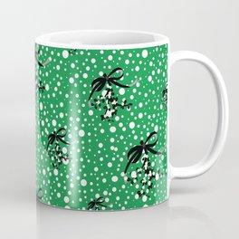 Berry Christmas. Green Coffee Mug