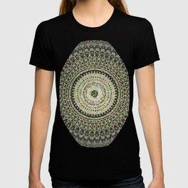 Fractal Kaleido Study 004 in CMR T-shirt